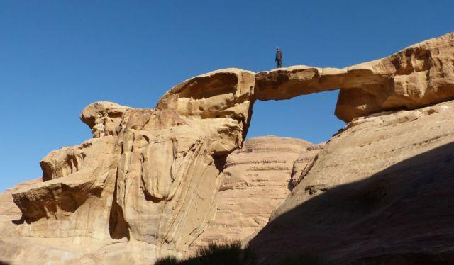 Wadi Rum - skalní most
