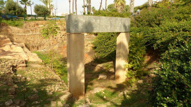Jaffa - Faraonova brána