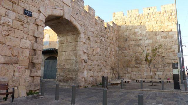 Jeruzalém - Staré město - Nová brána