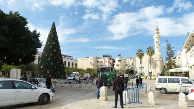 Betlém - náměstí Jeslí
