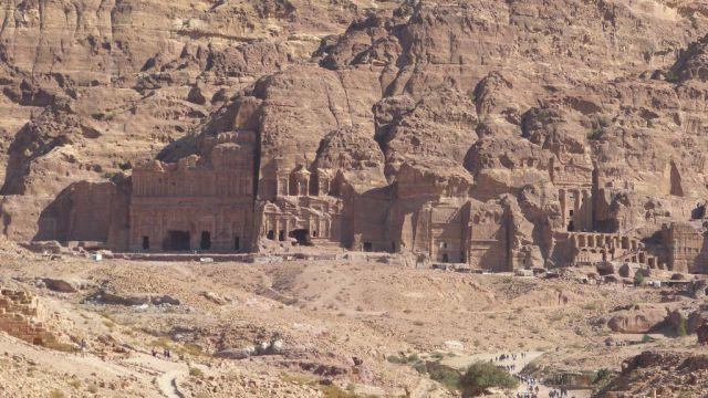 Petra - královské hrobky