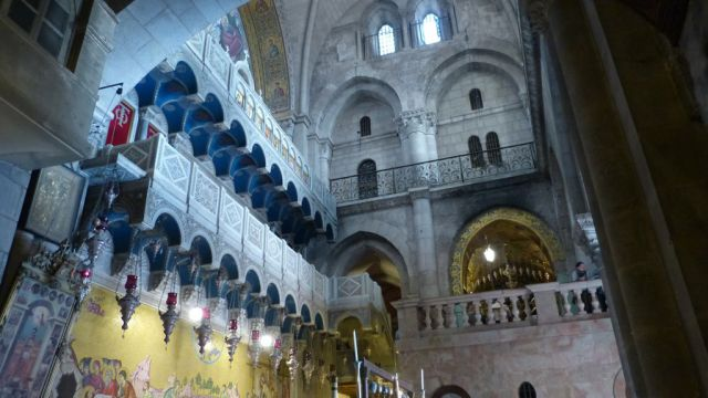 Jeruzalém - Boží hrob - interiér