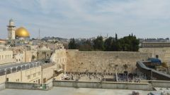Jeruzalém - Chrámová hora a Západní zeď