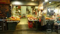 Jeruzalém - tržnice - ovoce