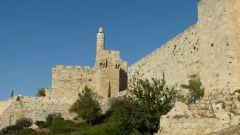 Jeruzalém - Davidova věž