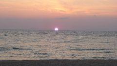 Netanya - západ slunce
