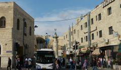Jeruzalém - bus