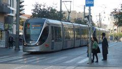 Jeruzalém - tram