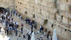 Jeruzalém - Zeď nářků