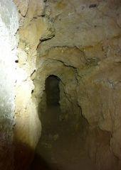 Qanat Evrona - podzemní tunel