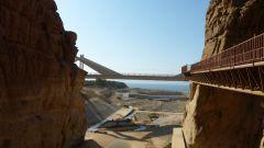 Mujib - ústí do Mrtvého moře