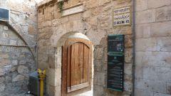 Jeruzalém - Svatý hrob - vstup do areálu