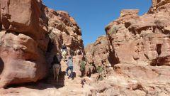 Petra - cesta ke klášteru