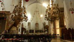 Betlém - kostel Narození Páně - interiér