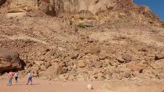 Wadi Rum - Lawrencův pramen - přístupová cesta
