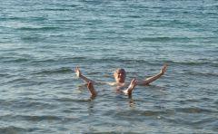 Mrtvé moře - koupání