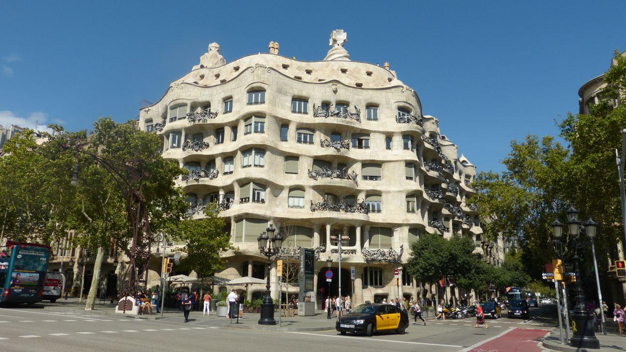 Barcelona - Casa Milà (La Pedrera)