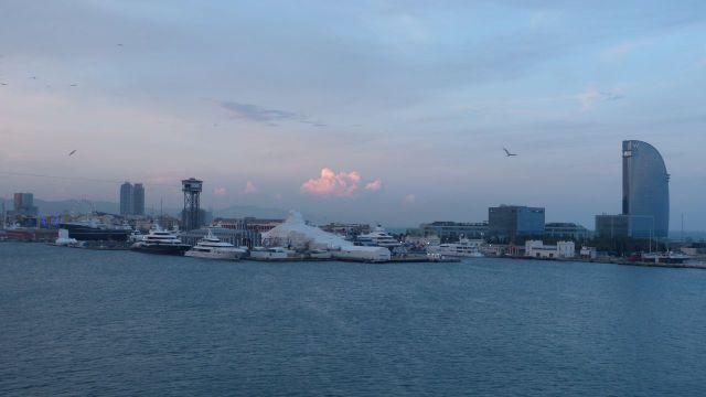 Barcelona - přístav