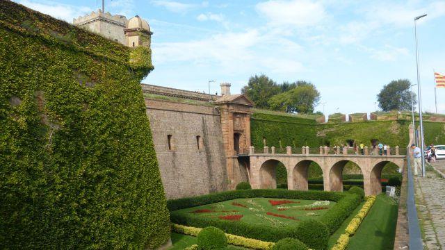 Barcelona - pevnost Montjuic - vstup