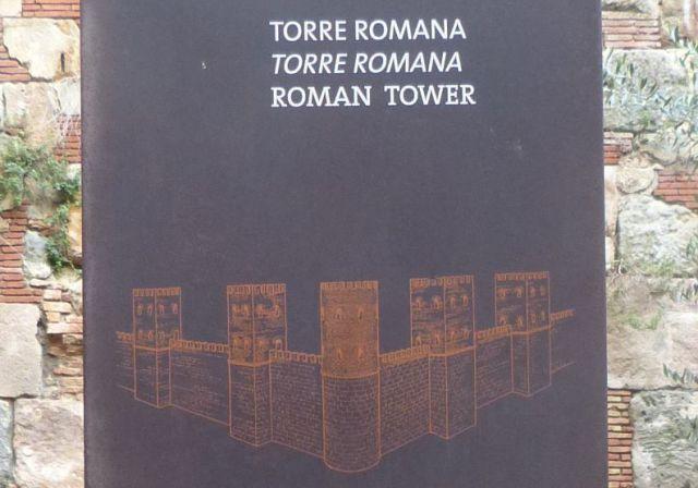 Barcelona - Torre Romana - rekonstrukce