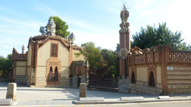Barcelona - Pabellones Güell