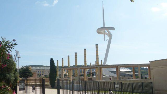 Barcelona - Olympijský areál