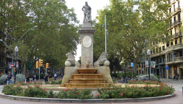 Barcelona - Herkulova fontána
