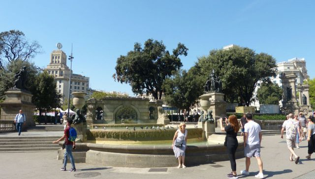 Barcelona - Plaça Catalunya