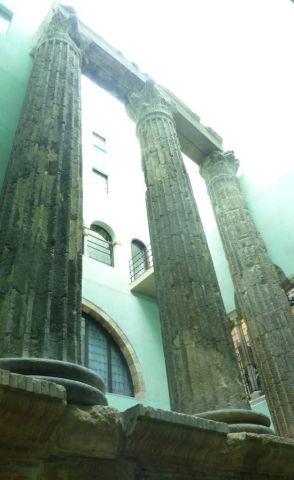Barcelona - Augustův chrám