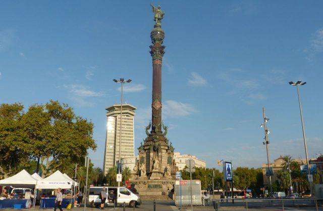 Barcelona - Monumento a Colón