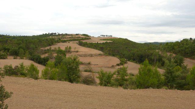 Circular Geostarwars - krajina v Katalánsku u Castelladral