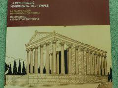 Barcelona - Augustův chrám - rekonstrukce