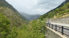 Andorra - silnice CG-2