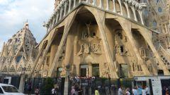 Barcelona - Sagrada Família - vstup