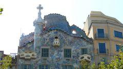Barcelona - Casa Batlló - střecha