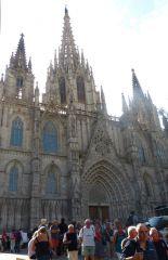 Barcelona - Catedral de la Santa Cruz y Santa Eulalia