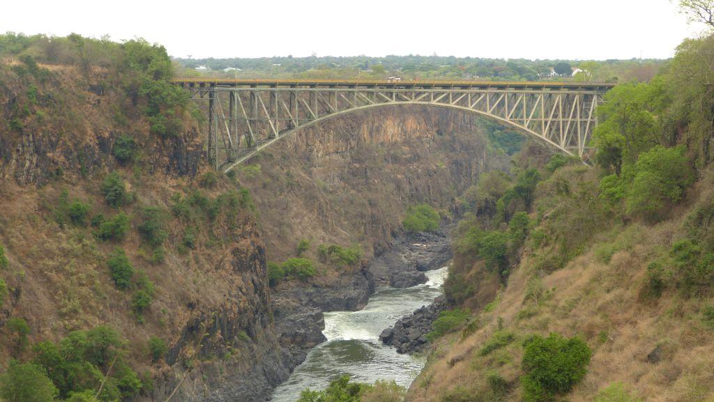 Most přes řeku Zambezi