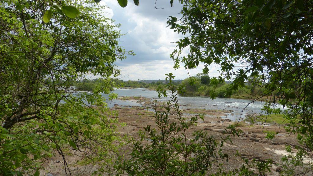 Zambezi nad Viktoriinými vodopády