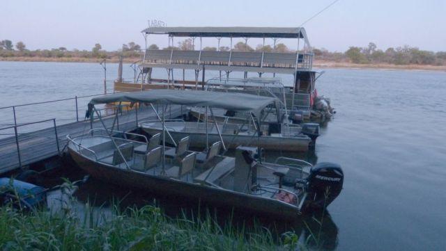 Okavango - výletní lodě