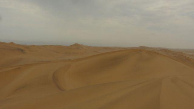 Duny v poušti Namib