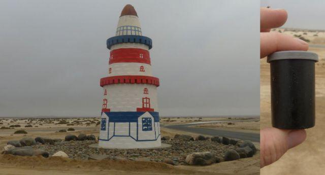 Cache v Namibii