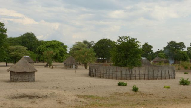 Vesnice v Namibii