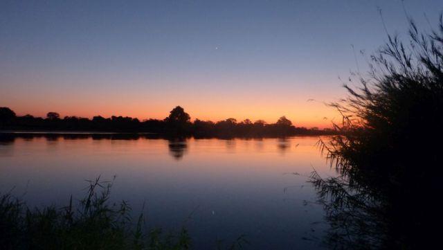 Okavango - červánky