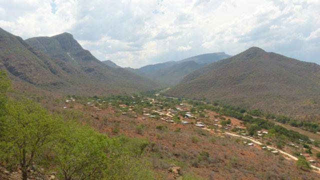 Dračí hory - vesnice Thabalesoba
