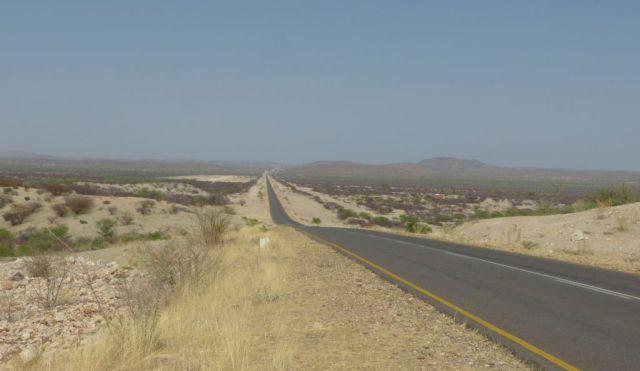 Namibie - silnice C39