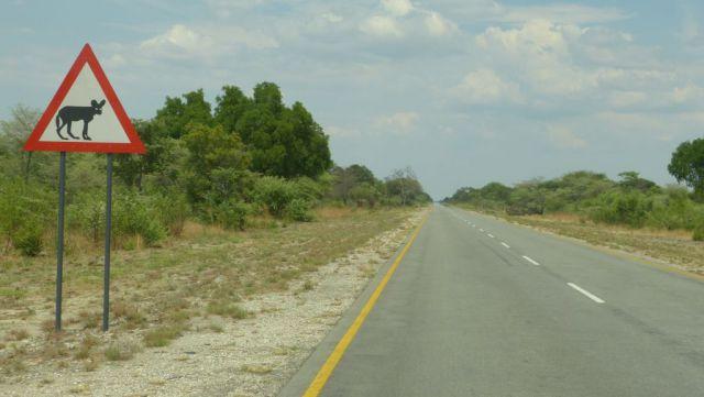 Silnice v pásu Caprivi