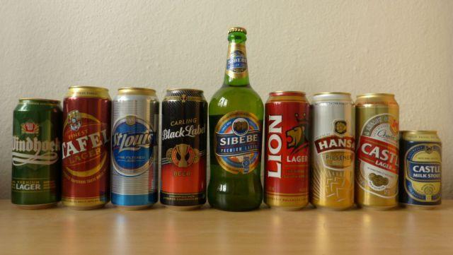 Piva z jižní Afriky