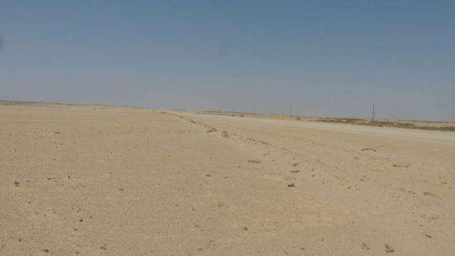 Namibie - silnice C35