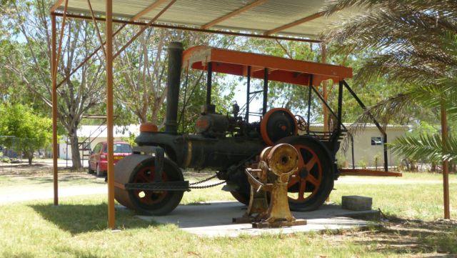 Grootfontein - Alte Fort Museum - venkovní expozice