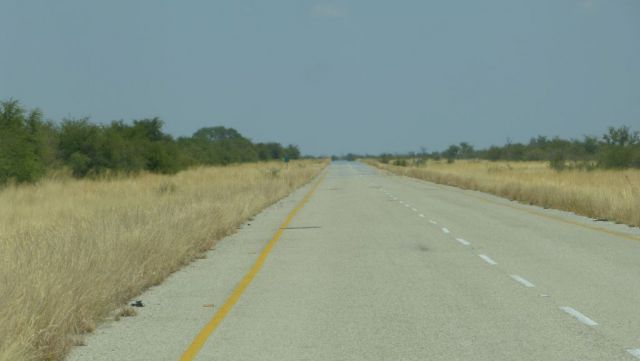 Silnice A3 Nata - Maun